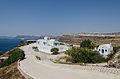 Restaurant at the crater rim near Akrotiri - Santorini - Greece - 01.jpg