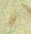 Rhön (Relief und Gewässer) - Deutsche Mittelgebirge, Serie A-de.png