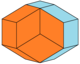 Rhombic icosahedron colored as expanded Bilinski dodecahedron.png