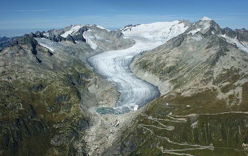 Rhonegletscher Furkapass 15092011