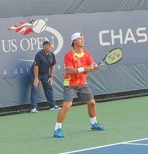 Ričardas Berankis - Berankis at the 2012 US Open
