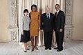 Ricardo Martinelli with Obamas.jpg