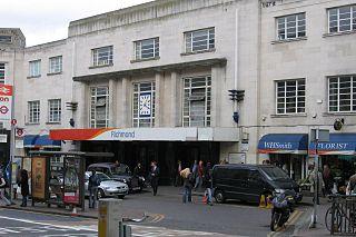 Richmond station (London) London Underground, London Overground, and railway station