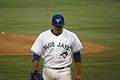 Ricky Romero returning from the mound (7952004494).jpg