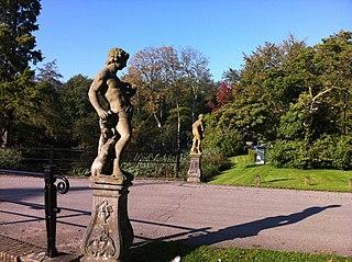 Groot Engelenburg: tuinbeelden