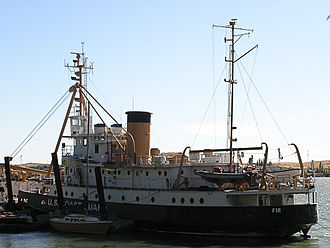 USCGC Fir (WLM-212) - The USCGC Fir while moored in Rio Vista.