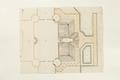 Ritning på den planerade sjögården vid Skoklosters slott, 1669 - Skoklosters slott - 98130.tif