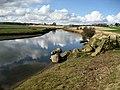 River Aln east of Lesbury - geograph.org.uk - 1203417.jpg