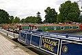 River Avon narrowboats in Stratford-upon-Avon basin, Warwickshire.jpg