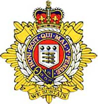 154 (Scottish) Regiment RLC - Cap Badge of the Royal Logistic Corps