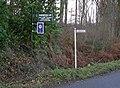 Road Signs, Ledgemoor - geograph.org.uk - 624691.jpg