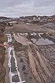 Road construction at E26 by Rudshøgda, Hedmark, Norway.jpg
