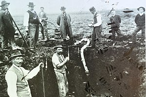 Jakob Messikommer - Excavations around 1900 on Wetzikon–Robenhausen