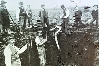 Robenhausen - Jakob Messikommer's excavations around 1900