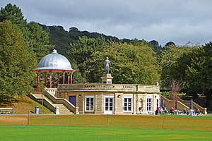 Roberts Park, Saltaire - Image: Roberts Park, Saltaire (25th September 2010)