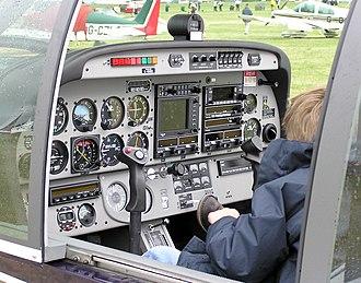 Cockpit - Robin DR400