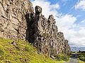 Roca de la Ley, Parque Nacional de Þingvellir, Suðurland, Islandia, 2014-08-16, DD 005.JPG