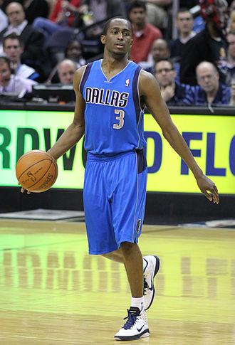 Rodrigue Beaubois - Beaubois, for the Mavericks in 2011.