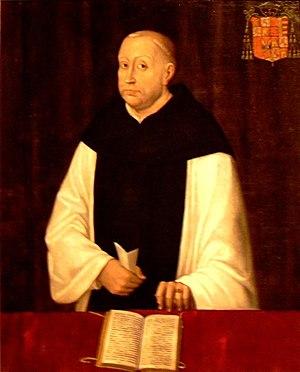 Hernando de Aragón - Aragón in a Cistercian habit, attributed to Roland de Mois