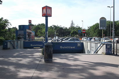 How to get to Quintiliani with public transit - About the place