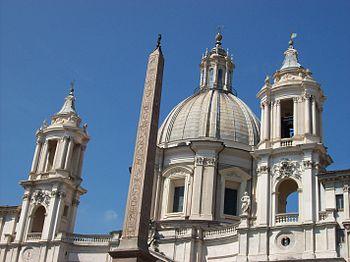 Italiano: Particolare della cupola e dei campa...
