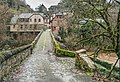 Roman Bridge over Dourdou River in Conques 10.jpg