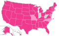 Ron Paul Ballot Access Locator Map, 1988 (United States of America).png