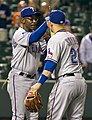 Ron Washington, Brandon Snyder (7156434312).jpg