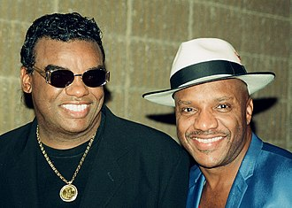 The Isley Brothers - Ron and Ernie Isley in 1996