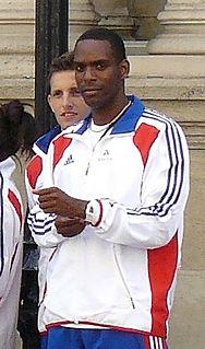 Ronald Pognon French sprinter