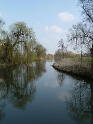 Battle of Neumarkt-Sankt Veit - Rott River near Oberdietfurt, 10 km downstream. The Bavarians suffered heavy losses while retreating across the Rott.