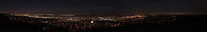 Rowland Heights, California - A panoramic image from Vantage Pointe