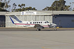 Royal Flying Doctor Service (VH-MWK) Beechcraft Super King Air B200C at Wagga Wagga Airport.jpg