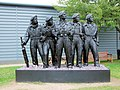 Royal Tank Regiment Memorial Statue, Bovington Tank Museum - Dorset (5974561153).jpg