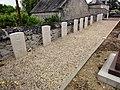 Rozières-sur-Crise (Aisne) cimetière, tombes brittanniques de la CWGC.JPG