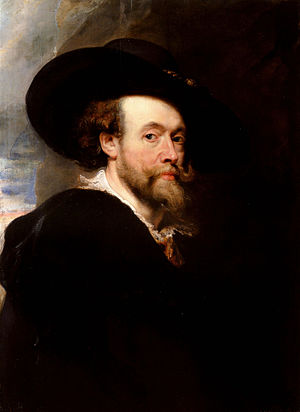 Art of Belgium - Self Portrait (1623) by Peter Paul Rubens