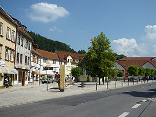 Ruhla Place in Thuringia, Germany