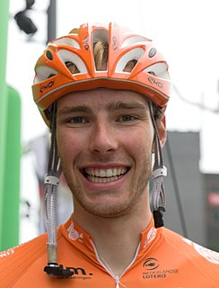 Jan-Willem van Schip Dutch cyclist