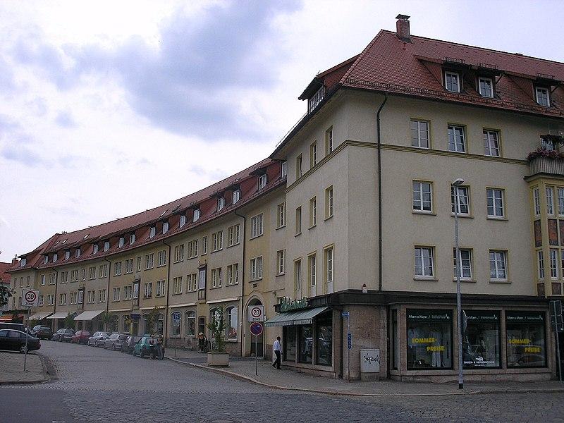 Datei:Rundwohnblock Nordhausen.JPG