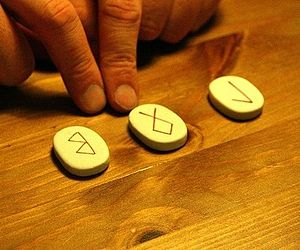 Picture of Runes used in Fortune Telling