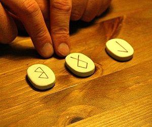 Runic magic - Runic divination using ceramic tiles