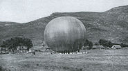 Russian Baloon in the Battle of Liaoyang 2