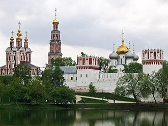 Novodevichy Convent - Novodevichy Convent in summer