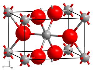 Chromium(II) fluoride - Image: Rutile structure