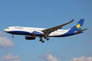 RwandAir - A RwandAir Airbus A330-200