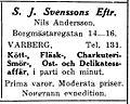 S. J. Svenssons Eftr, annons 1927.jpg