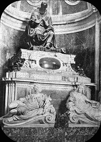 Pope Paul III - Rome, Italy. St. Peter's, tomb of Paul III. Brooklyn Museum Archives, Goodyear Archival Collection