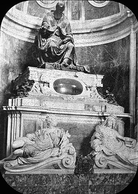 Rome, Italy. St. Peter's, tomb of Paul III. Brooklyn Museum Archives, Goodyear Archival Collection S. Peter, Rome, Italy. (2830835909).jpg