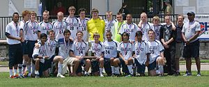 South Carolina Governor's School for Science and Mathematics - SCGSSM State Soccer Championship 2012