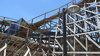 Apocalypse: The Ride - Apocalypse is a wooden roller coaster.